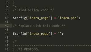 remove index php in codeigniter using htaccess file