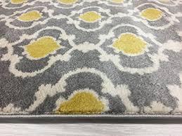 rug moroccan trellis contemporary indoor area rug runner 2 x 7 2 gray