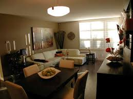 living and dining room combo. Beige Wall Color Ideas For Formal Living And Dining Room Combo With L Shaped White Sofa S