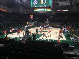 Watsco Center Seating Chart Basketball Watsco Section 106 Rateyourseats Com
