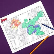 Small Picture Avengers Coloring Pages Disney Family
