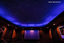 Star Ceiling... Fiber Optics or Painted? - Night Sky Murals