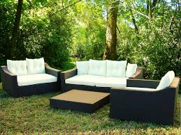 modern resin wicker patio furniture sets