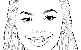 Coloring Pages Of Famous People Trustbanksurinamecom