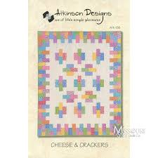 Cheese and Crackers Quilt Pattern - Atkinson Designs — Missouri ... & Cheese and Crackers Quilt Pattern Adamdwight.com