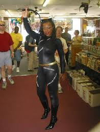 catwoman with her whip in