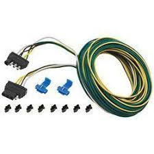trailer lights and connectors from defender wesbar 4 way flat vehicle and trailer wire harnesses 25 foot wishbone