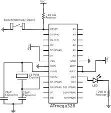 arduino uno schematic diagram computer pinterest new wiring cpu connection to computer at Computer Wiring Diagram