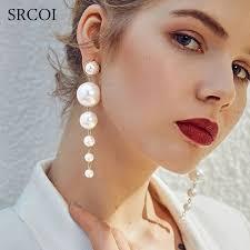Srcoi Мода <b>элегантный</b> создан Большие имитация жемчуга ...
