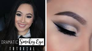 cut crease smokey eye tutorial asian hooded eyes