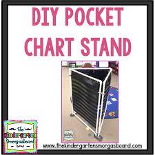 Pocket Chart Stand Diy 3 Sided Pocket Chart Stand Pocket