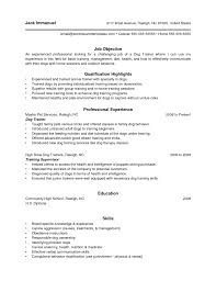 Personal Trainer Resume Examples Electrical And Electronics Installation And Maintenance Resume 63