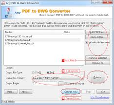 Convert Dwg To Dxf Pdf To Dxf Converter