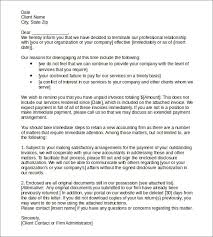 Termination Of Cleaning Services Letter 11 Termination Of Services Letters Doc Apple Pages Google Docs