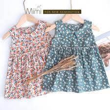 HOT) Váy bé gái babydoll hoa nhí siêu mát và sành điệu - Én-Thời Trang Nhí  chuyên quần áo trẻ em cao cấp