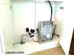 hide electrical wires hiding wires mounting above fireplace figure 3 mounted behind wall mount hide ab
