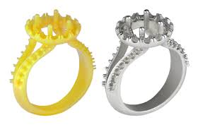 easy cast 2 0 is a high wax content material for 3d printing jewelry patterns on