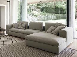 Living Room Chaise Land Sofa With Chaise Longue By Bonaldo Living Room Option 1