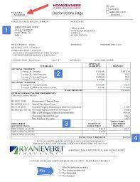 texas homeowners insurance sample homeowners declaration page texas homeowners insurance rates increase