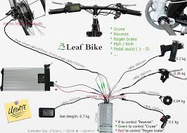 wiring diagram electric bike wiring image wiring 20 inch 48v 1000w front hub motor electric bike conversion kit on wiring diagram electric bike