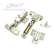 Kitchen Cabinet Hydraulic Hinge Half Overlay Soft Close Furniture Hardware Cabinet Hydraulic