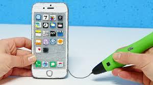 КАК СДЕЛАТЬ iPHONE 7 3D <b>РУЧКОЙ</b>?! 3D PEN iPHONE 7 DIY ...