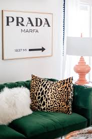 decorating your home with wild prints