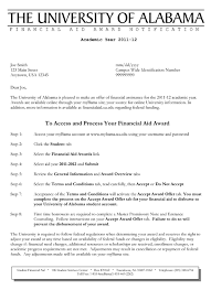 example of financial aid appeal letter pay stub template example of financial aid appeal letter financial aid appeal letter sample awardletter 1 gif