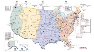 america time zone map  pointcardme