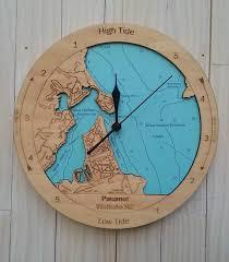 wooden tide clock pauanui tairua harbour