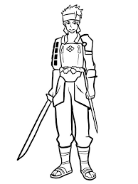 Printable coloring pages & coloring books. Lisbeth Sword Art Online Coloring Page Free Printable Coloring Pages For Kids