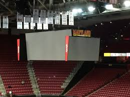 Comcast Center Mansfield Seating Chart Virtual Xfinity Center College Park Maryland Wikipedia