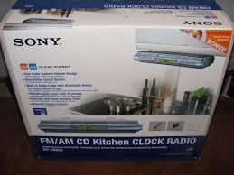 Radio For Kitchen Cabinet Sony Under Cabinet Kitchen Radio Cd Player Icf Cdk50 Cliff Kitchen