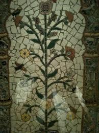 inn of the five graces bathroom mosaic tile work h16 work