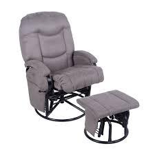 chair ottoman. 4baby glider slate - grey chair ottoman