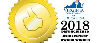 Achievement Awards For Elementary Students Matoaka Earns Vdoe 2018 Distinguished Achievement Award Matoaka