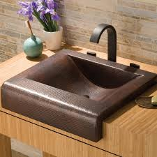 palisades copper bathroom sink