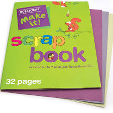 A3 Coloured Scrapbook