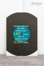 Postkarte Aus Holzschliffpappe Schallplatte Art à La Card