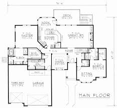 home plans with inlaw suites beautiful rambler floor plans with walkout basement best house plans with