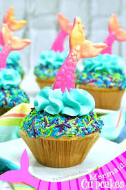 Cute mermaid home decor inspiration ideas Mermaid Themed These Crazy Cute Mermaid Cupcakes Are The Viral Party Trend Of The Summer Heres How The Soccer Mom Blog Easy Mermaid Cupcakes The Soccer Mom Blog