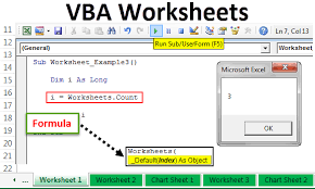 Vba Worksheet How To Use Worksheet Objects In Excel Vba