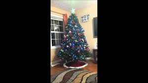 Rotating Christmas tree - YouTube