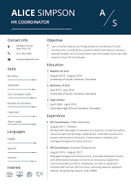 Hr Resume Template Free HR Resume And CV Template In PSD MS Word Publisher 15
