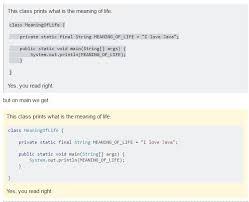 Quote Inside A Quote Code Block Inside Quote Block Formatting Is Broken On Meta Meta