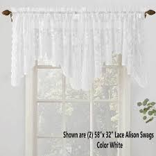 white lace shower curtain. No Alison Jacquard Lace Curtain Panel Lichtenberg Off White Shower Curtains V Medium Size