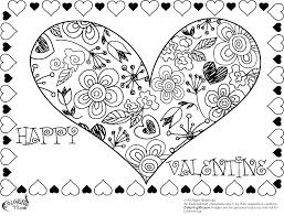 Free Valentines Coloring Pages Free Coloring Pages For Valentines