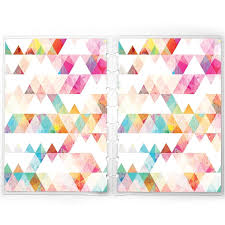 Discbound Replacement Planner Cover Fits Happy Planner Staples Arc Triangles