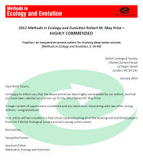 Commendation Letter Template 2013 The Marine Ecology Lab With Commendation Letter For A Job Well