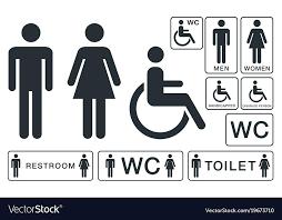 wc bathroom sign home insights furniture vietnam